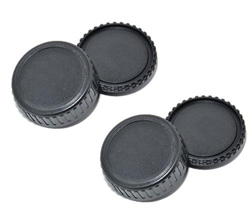 Fantastic Deal! EzFoto Body Cap and Lens Rear Cap for Leica M mount lens and cameras, fits Leica M9,...