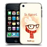 Head Case Be Different Rabbit Animal In Watercolour Case For Apple iPhone 3G 3GS