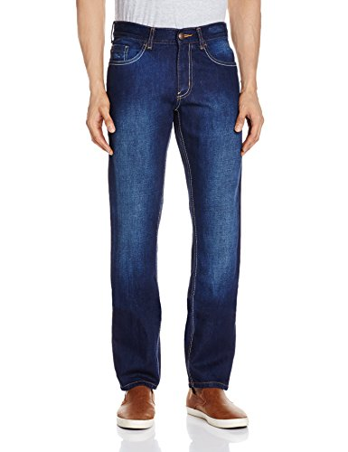 Newport Men's Slim Fit Jeans (8907242913131_268309279_34W x 30L_Blue Mid Stone)  available at amazon for Rs.499