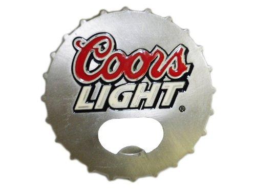 Coors Light Belt Buckle Beer Bottle Opener