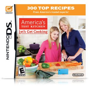 New America'S Test Kitchen: Let'S Get Cooking (Nintendo Ds) Simulations front-608674