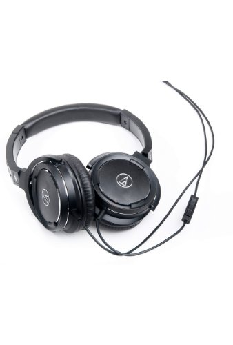 Audio Technica Solid Bass Over Ear Headphones with iPod Control Black Friday & Cyber Monday 2014