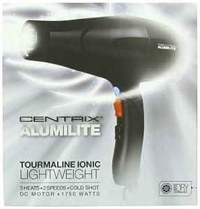Cricket Pro CR7207 Cricket Centrix Alumilite Lightweight Hair Dryer