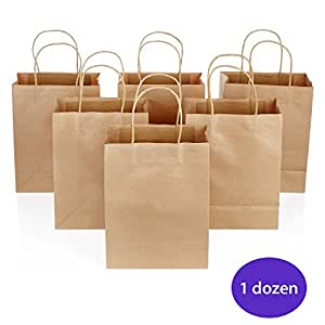 Buy brown paper bags with handles craft bags for Handles for bags craft