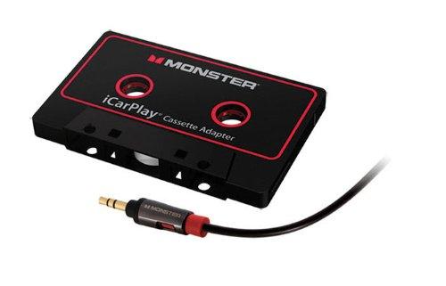 Monster MBL AI 800 CAS-ADPT WW Cassette Adapter (Color: Black)