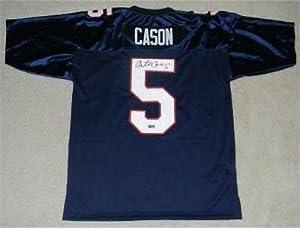 Antoine Cason Signed Jersey - Arizona Wildcats #5 Coa - Autographed NFL Jerseys by Sports+Memorabilia