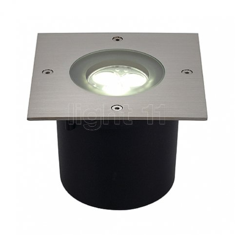SLV WETSY POWER LED, square, 3W, weiss