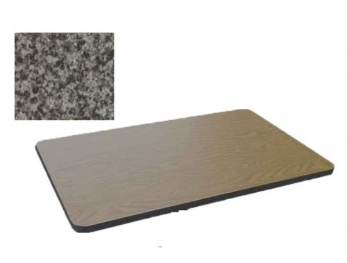 Correll Ct3042-07 Cafe and Breakroom Tables - Tops - Black Granite