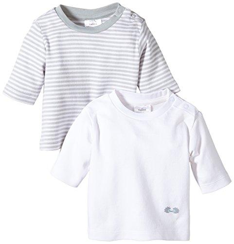 Twins - 112017, T-shirt per bimbi, multicolore (11-0601 - weiss), Taglia produttore: 80