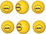 Avm Yellow-6 Avm Windball-6 Cricket Ball - Size: Standard, Diameter: 6.5 Cm