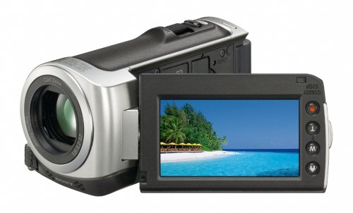 Sony HDR-CX100 AVCHD HD Camcorder with Smile Shutter & 10x Optical Zoom (Silver)