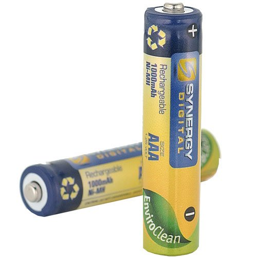 Clarity D702 Cordless Phone Battery 4 AAA NiMH Rechargable Batteries - 1000mAh - by Synergy Digital Reviews