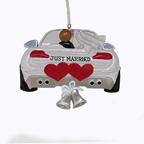 Kurt Adler Wedding Car Ornament #D2226