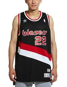 Portland Trail Blazers #22 Clyde Drexler NBA Soul Swingman Jersey, Black by adidas