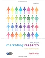 Marketing Research: Tools and Techniques, 3rd Edition Front Cover