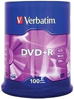 Verbatim DVD+R Cakebox de 100