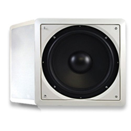 "Acoustic Audio Iws10 In-Wall/Ceiling 400 Watt 10"" Home Theater Passive Subwoofer Pair Iws10-Pr"