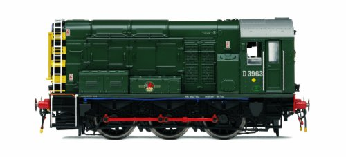 Hornby R3037XS BR Green Class 08 00 Gauge DCC Fitted Sound Diesel Electric Locomotive