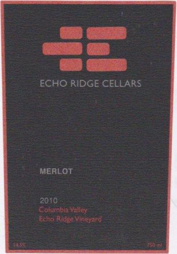 2010 Echo Ridge Cellars Columbia Valley Merlot 750 Ml