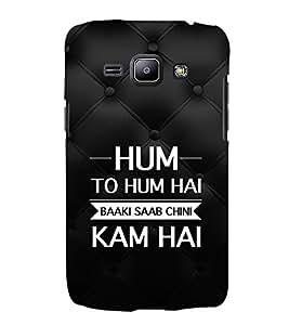 EPICCASE hum to hum Mobile Back Case Cover For Samsung Galaxy J1 (Designer Case)