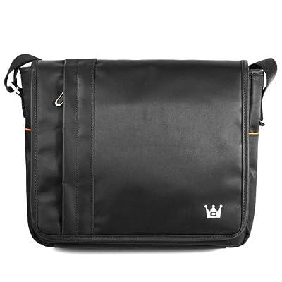CaseCrown Horizontal Mobile Messenger Bag (Black) for 10 Inch Netbook