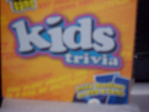 Travel Game Kids Trivia