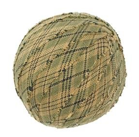 "Tea Cabin Decorative Fabric Ball #4, 2.5"" Diameter, Sold As Set Of 6"