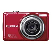 Fujifilm Finepix Jv500 Digital Camera - Red