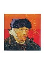 Legendarte Lienzo Autoritratto Con L'Orecchio Bendato di Vincent Van Gogh