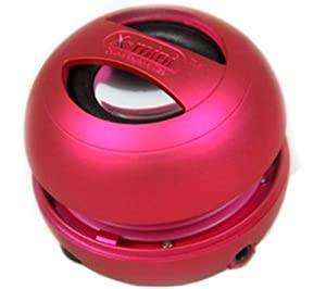 X-Mi X Mini II 2nd Generation Capsule iPhone / iPad 2 3 / iPod / MP3 / Laptop Speaker - Pink