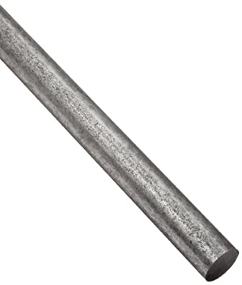 A36 Steel Round Rod, Solid, Unpolished (Mill) Finish, Hot Rolled, Standard Tolerance, Inch, ASTM A36
