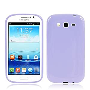 Soft Purple TPU Gel Case Cover Protect Skin for Samsung Galaxy Grand Duos i9080 i9082
