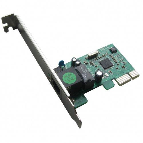 HiRO H50218 10/100/1000 Internal PCI Express PCIe PCI-E x1 Gigabit Ethernet Card RoHS Windows 10 8.1 8 7 Vista XP 32-bit 64-bit (Ethernet Card 10 100 1000 compare prices)