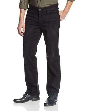 Calvin Klein Jeans Men's Straight Leg Jean In Worn In Black, Worn In Black, 29x30