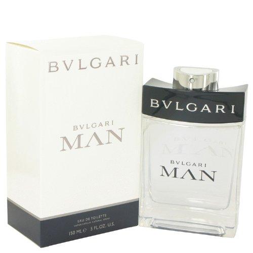 Bvlgari Man Eau de Toilette Spray for Men Parfum perfume EAU 5 oz / 150 ml (Air Force Top Coat compare prices)