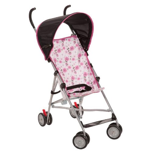 Disney Umbrella Stroller with Canopy, Floral Minnie