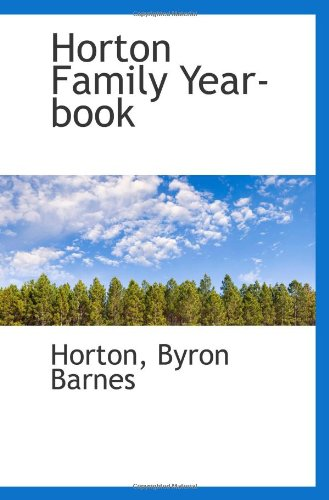 Horton Family Year-book