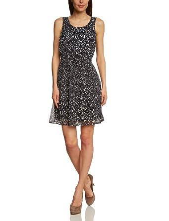 ESPRIT Damen Kleid (knielang) R21752, Gr. 40 (L), Schwarz (001 black)