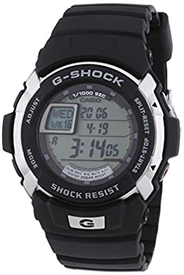 Casio G-Shock Men's Digital Watch with Resin Bracelet – 7700 from ITALJAPAN SRL