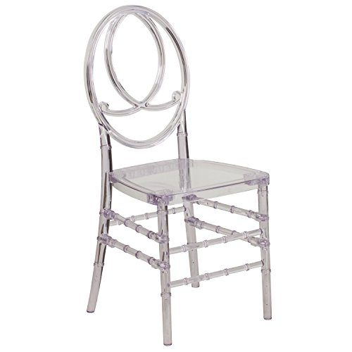 Flash Furniture Elegance Crystal Ice Stacking Phoenix Chair