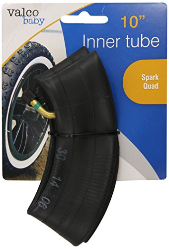 Valco Baby Universal Inner Tube for Stroller Tires, Black, 10""