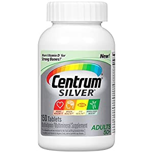 Centrum Silver Adults Multivitamin/Multimineral Supplement