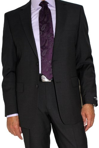 Marzotto Suit by Pierre Cardin charcoal 46L
