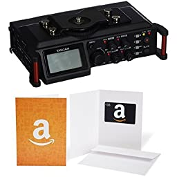 TASCAM DR-70D 4-Channel DSLR Audio Recorder With $35 Gift Card