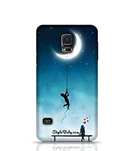 Style baby Amorous Exploits Love Background Samsung Galaxy S5 Phone Case