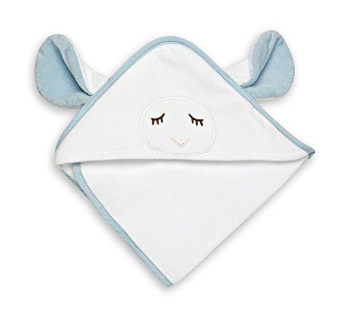 Gund Babygund Winky Baby Hooded Towel, 30-inch By 30-inch, Peek A Blue, Winky Peek A Blue