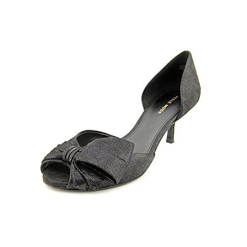 Pelle Moda Belle Womens Size 5.5 Black Leather Dress Sandals Shoes