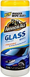 Armor All Glass Wipes 25 ct (Pack of 6)