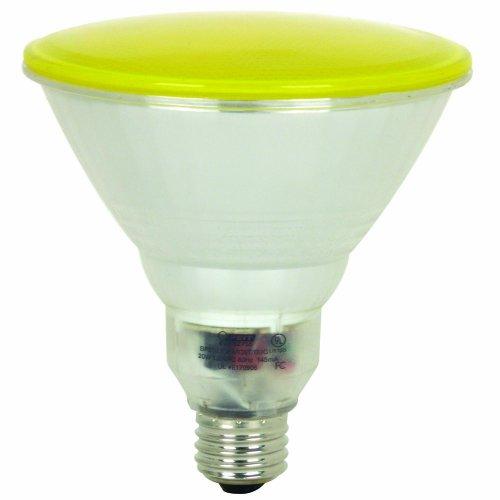 Feit Electric BPESL23PAR38T/BUG 100-Watt PAR 38 Outdoor Compact Fluorescent Light Bulb, Yellow