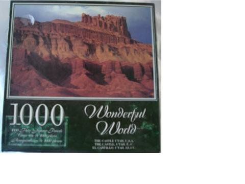 Wonderful World 1000 Piece Jigsaw Puzzle - The Castle Utah, U.S.A.